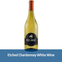 Etched Chardonnay White Wine