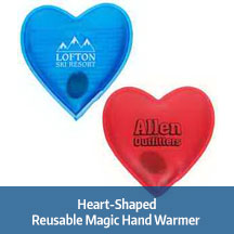 Heart-Shaped Reusable Hand Warmer