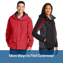 More Ways to Find Outerwear