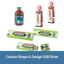 Custom Shape & Design USB Flash Drive